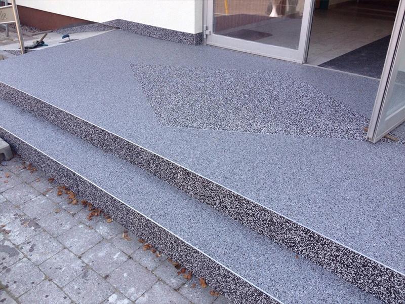 marmorkies steinteppich grigio bardiglio grau bindemittel kies stein teppich ebay. Black Bedroom Furniture Sets. Home Design Ideas