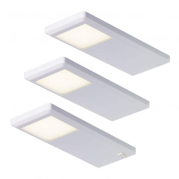 Pinto Weiß 3er-Set LED Leuchte (415893)