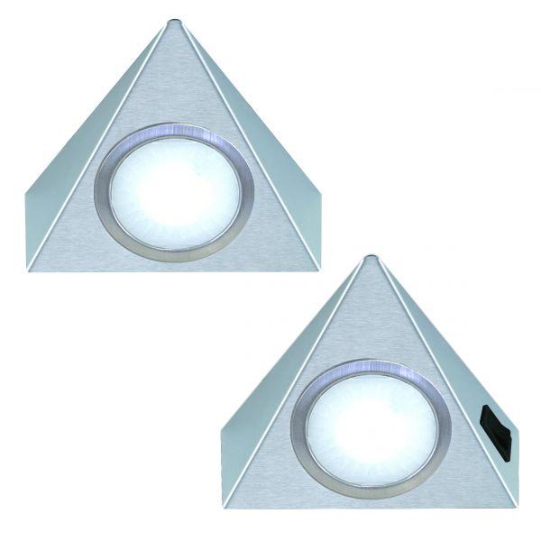 Triangolo 2er-Set LED Leuchte (421442)