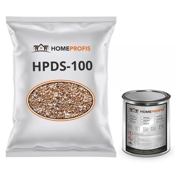 """HPST-5000 Steinteppich (Outdoor) 50kg """"Rosso Verona"""" inkl. 2kg PU-Bindemittel"""