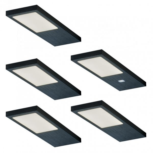 Vogt Gamma Noir 5er-Set LED Leuchte