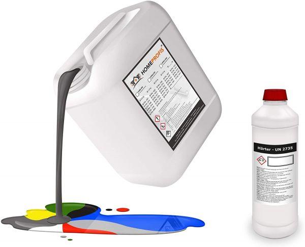 HPBP-500 Epoxidharz RAL 9016 (Verkehrsweiß) - Poolfarbe - 5kg