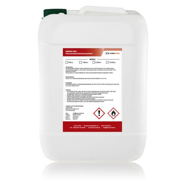 HPDES-500 Desinfektionsmittel zur Flächendesinfektion (5 Liter)