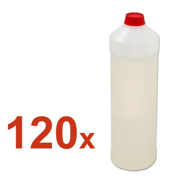120x leere 1L Plastikbehälter