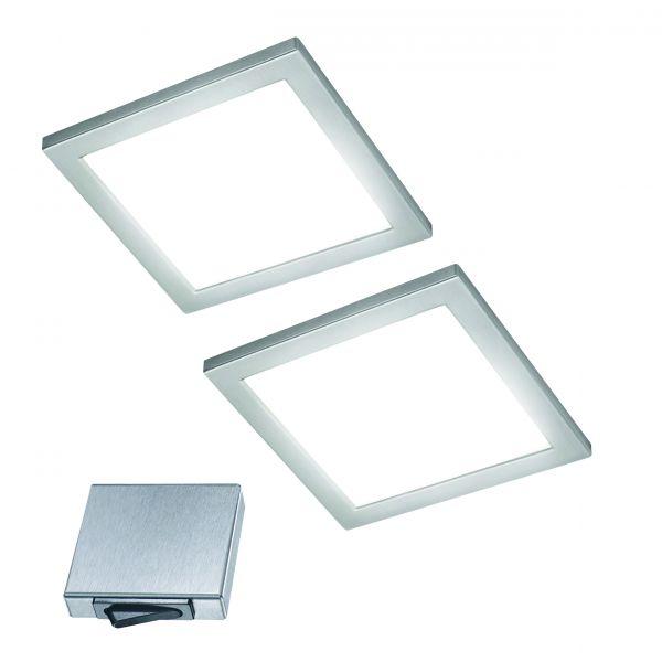 Ria-M 2er-Set LED Panel-Leuchte (412972)