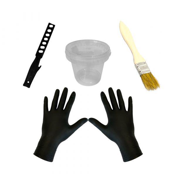 Werkzeug-Set für Laminier- und Gießharz