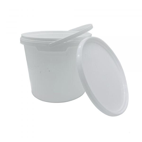 KE.005 - Plastikeimer in weiß (5L)