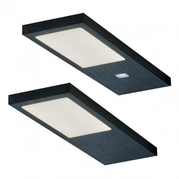 Gamma Noir 2er-Set LED Leuchte (422052)