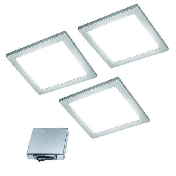 Ria-M 3er-Set LED Panel-Leuchte (412973)