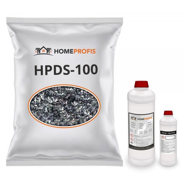 """HPST-2000 Steinteppich (Indoor) 15kg """"Verde Alpi"""" inkl. 0,9kg Bindemittel"""
