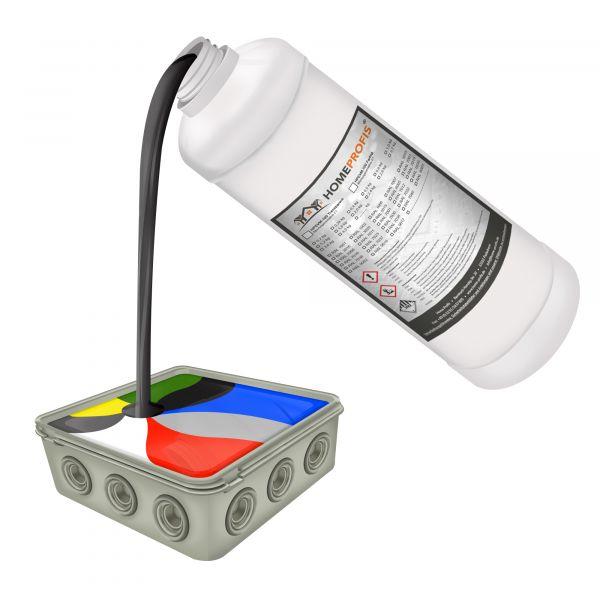 HPEVM-100 Elektrovergussmasse RAL 3016 Korallenrot (5000g)
