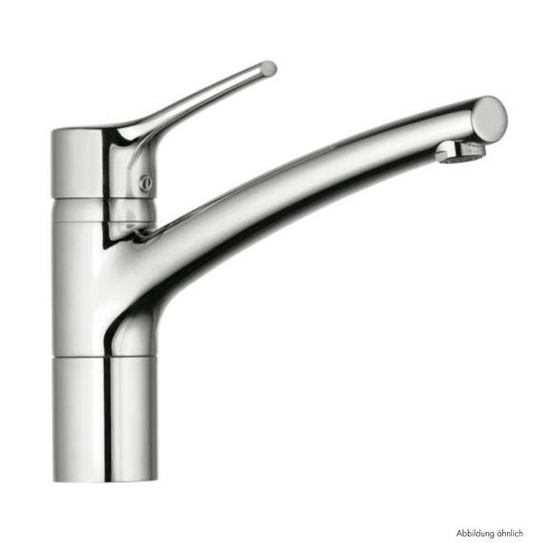 Kludi Trendo 1 Küchenarmatur Niederdruck Edelstahlfinish - 5023168