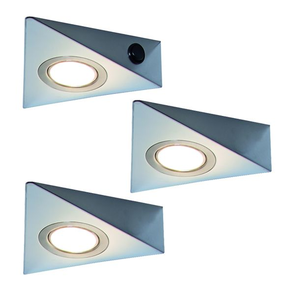 Rokky 2.0 3er-Set LED Leuchte (141503)