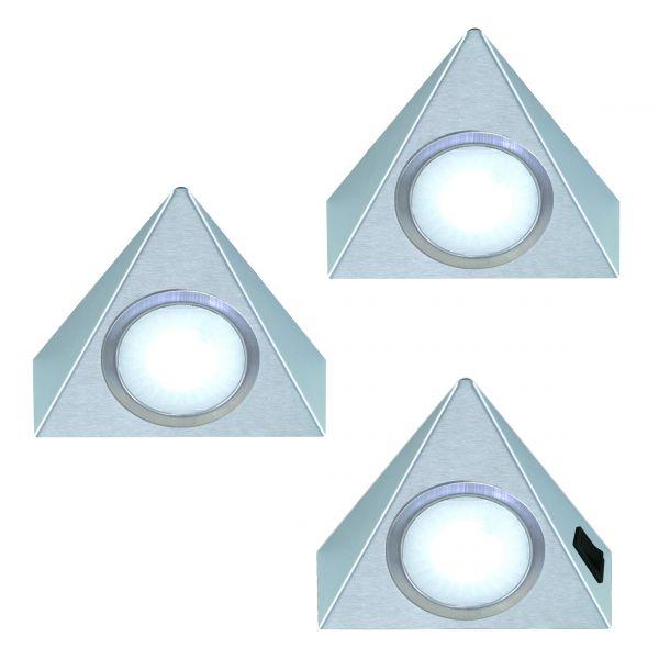 Triangolo 3er-Set LED Leuchte (421443)