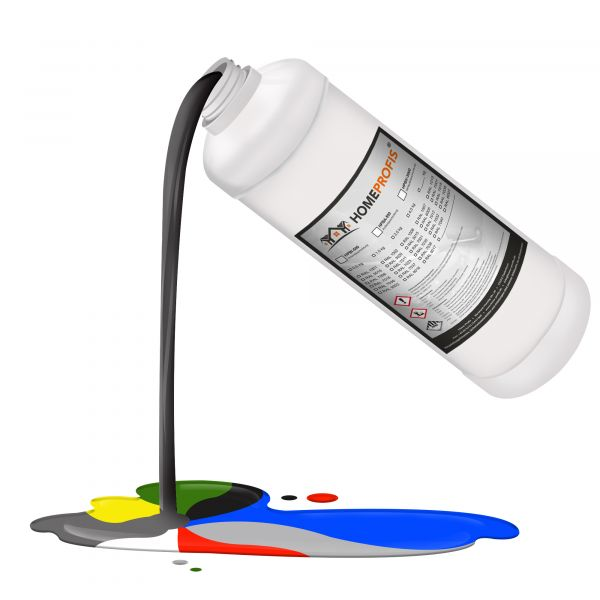 HPBA-500 Epoxidharz RAL 7030 (Steingrau) - Außen - 1,25kg