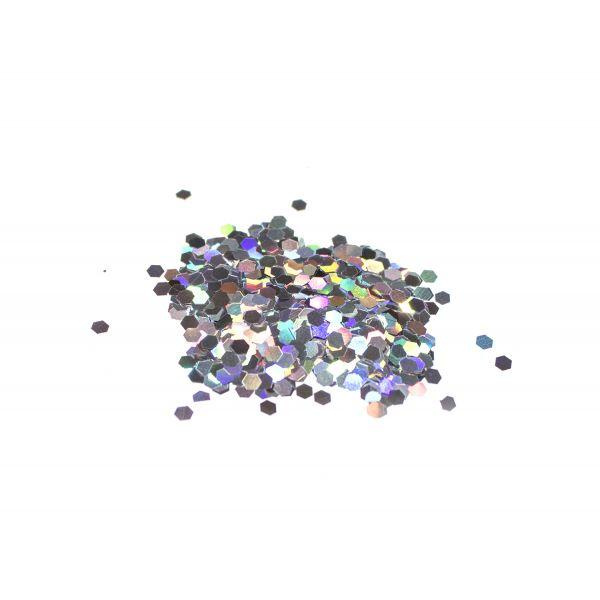 HPDC-100 Dekochips Silber Hologramm (grob)
