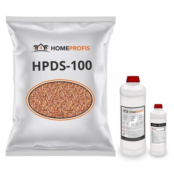 """HPST-2000 Steinteppich (Indoor) 50kg """"Rosa del Garda"""" inkl. 3kg Bindemittel"""
