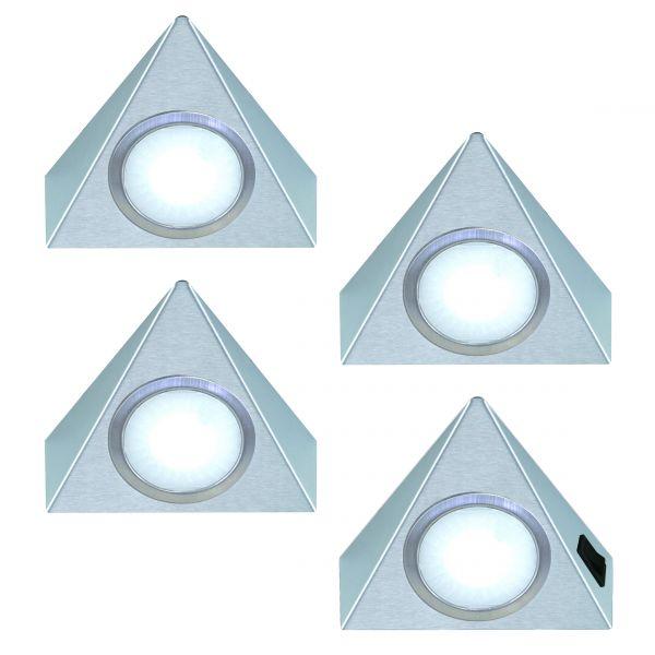 Triangolo 4er-Set LED Leuchte (421444)