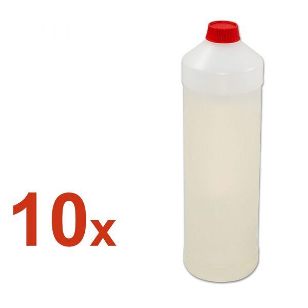 10x leere 1L Plastikbehälter