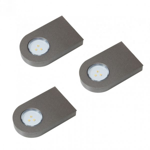 Glaspoint Emotion 3er-Set LED Leuchte (417783F)