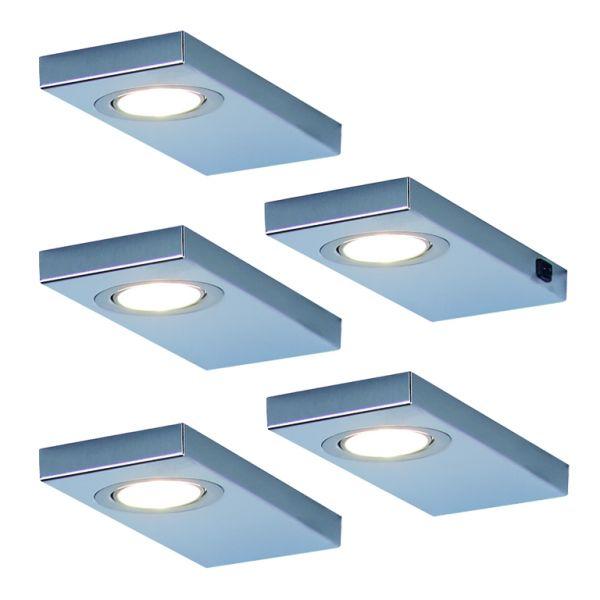 Leon 2.0 5er-Set LED Leuchte (141525)