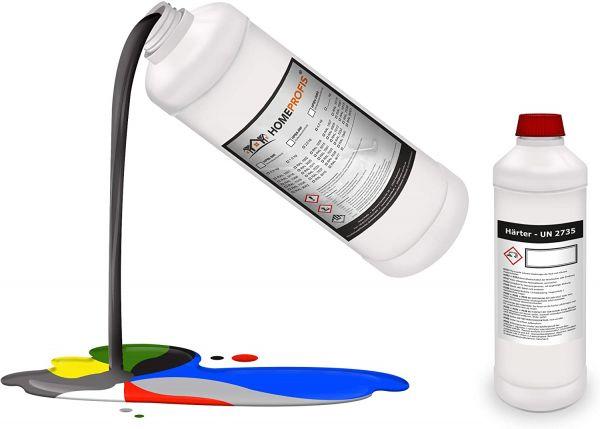 HPBI-500 Epoxidharz RAL 8017 (Schokoladenbraun) - Innen - 1,25kg