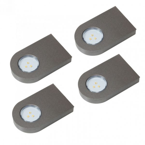 Glaspoint Emotion 4er-Set LED Leuchte (417784F)