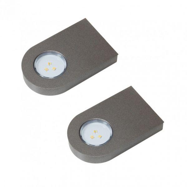 Glaspoint Emotion 2er-Set LED Leuchte (417782F)